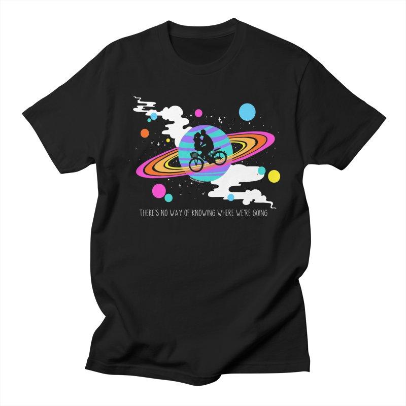 Where We're Going in Men's Regular T-Shirt Black by DARKER DAYS