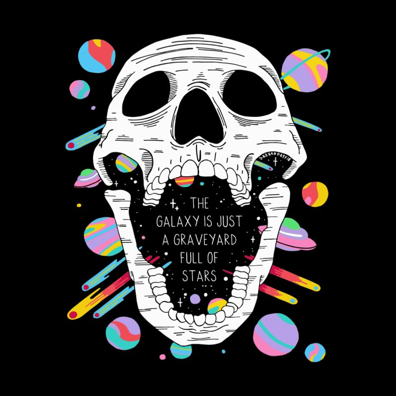 Galaxy Graveyard Men's All Over Print by DARKER DAYS