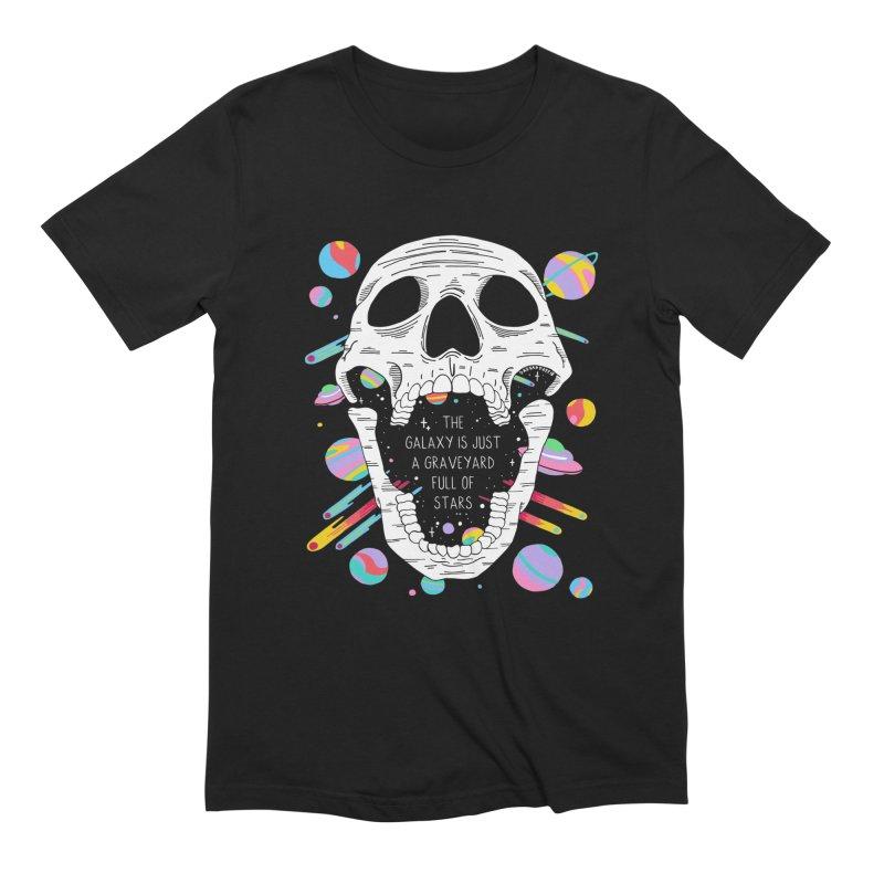 Galaxy Graveyard Men's T-Shirt by DARKER DAYS