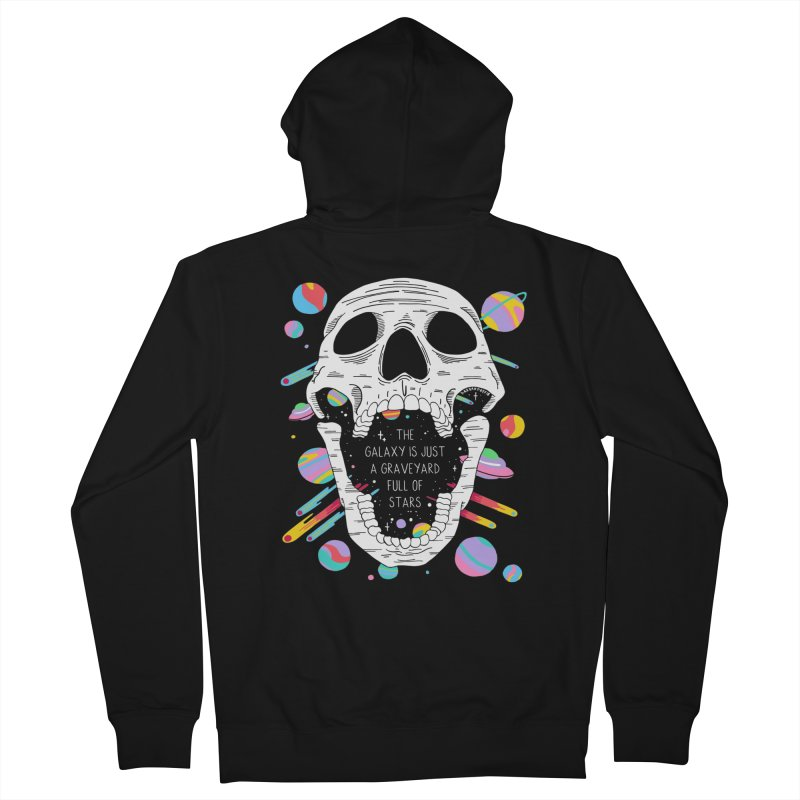 Galaxy Graveyard Men's Zip-Up Hoody by DARKER DAYS