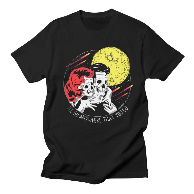Anywhere You Go in Men's Regular T-Shirt Black by DARKER DAYS