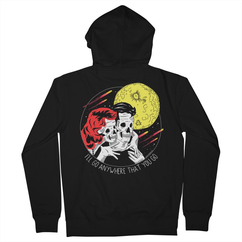 Anywhere You Go Men's French Terry Zip-Up Hoody by DARKER DAYS