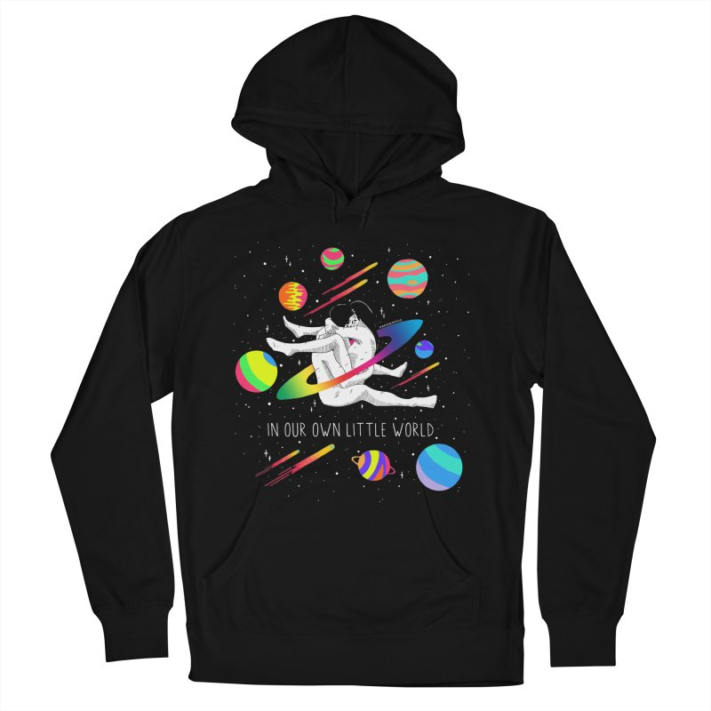 Our Own Little World Men's French Terry Pullover Hoody by DARKER DAYS