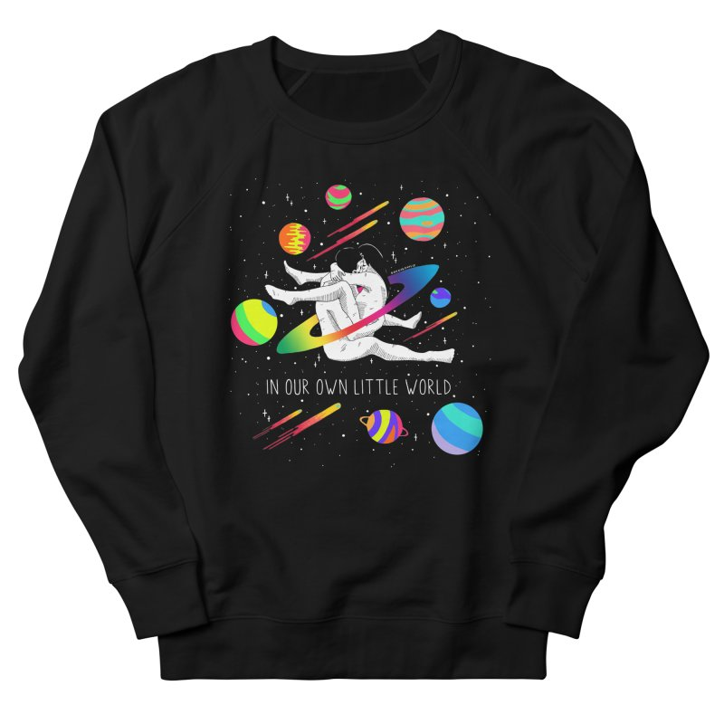 Our Own Little World Men's French Terry Sweatshirt by DARKER DAYS