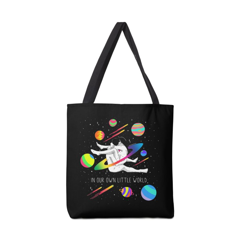 Our Own Little World Accessories Tote Bag Bag by DARKER DAYS