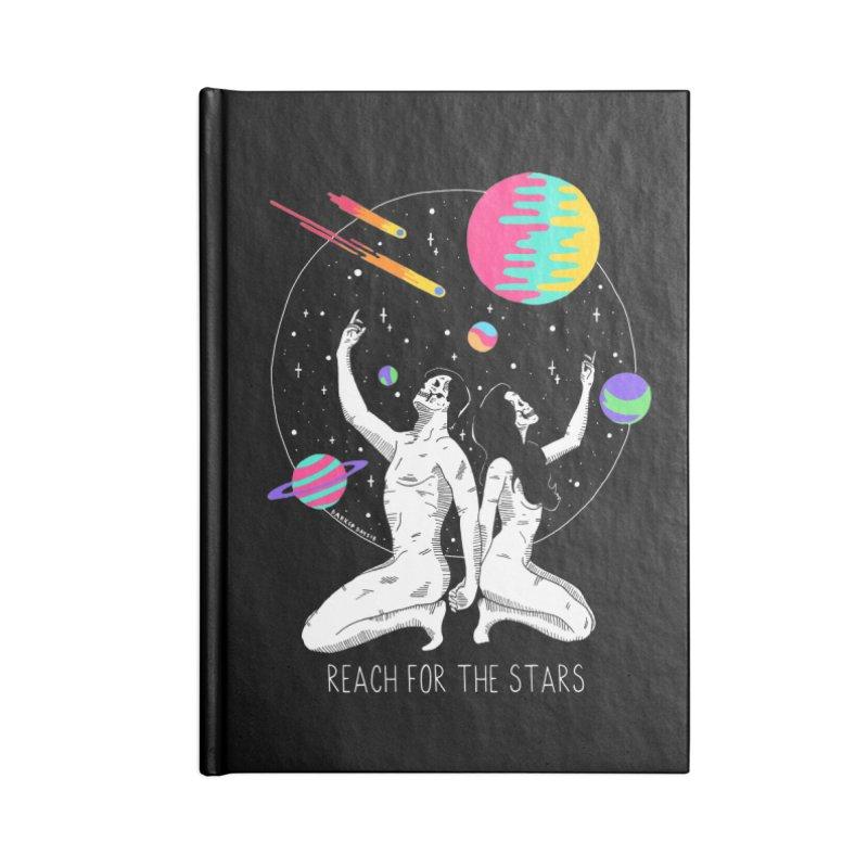 Reach For The Stars Accessories Blank Journal Notebook by DARKER DAYS