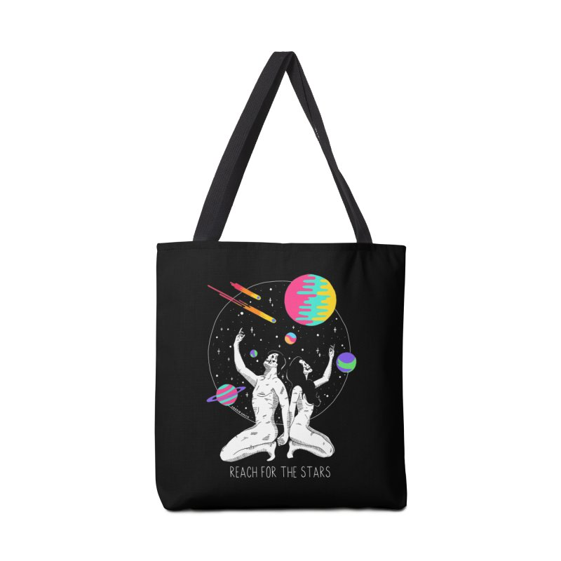 Reach For The Stars Accessories Tote Bag Bag by DARKER DAYS
