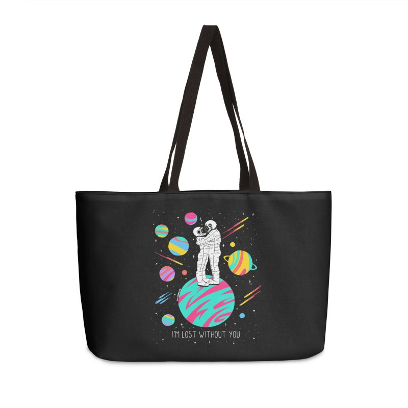 Lost Without You Accessories Weekender Bag Bag by DARKER DAYS