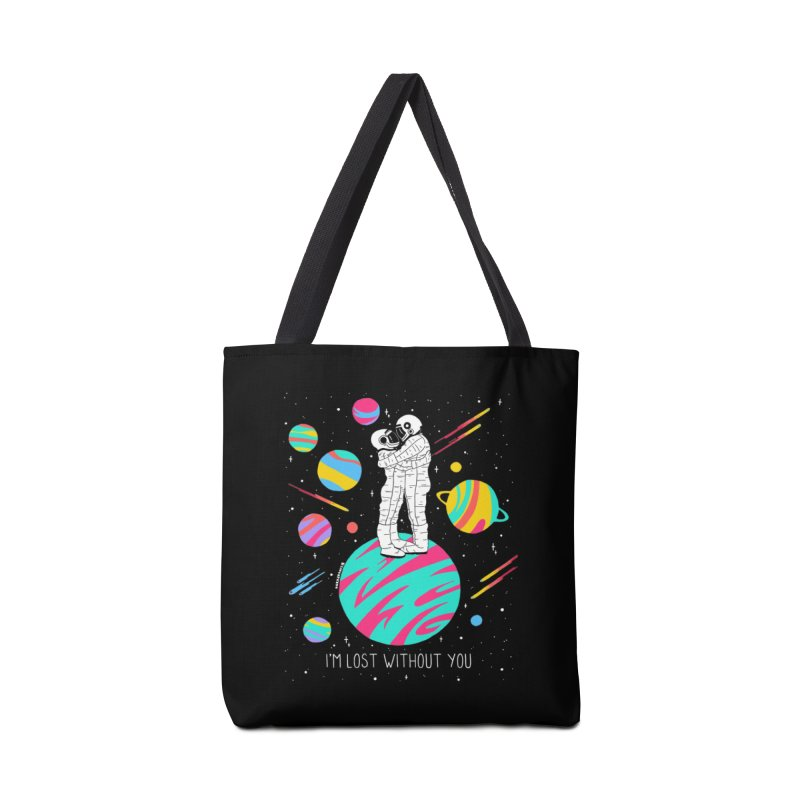 Lost Without You Accessories Tote Bag Bag by DARKER DAYS