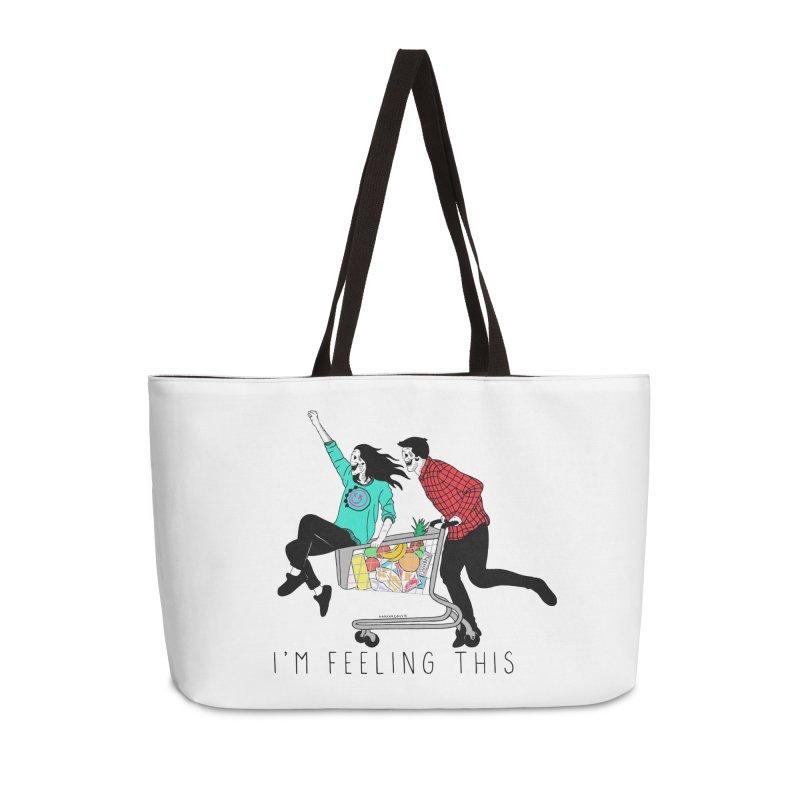 Feeling This Accessories Weekender Bag Bag by DARKER DAYS