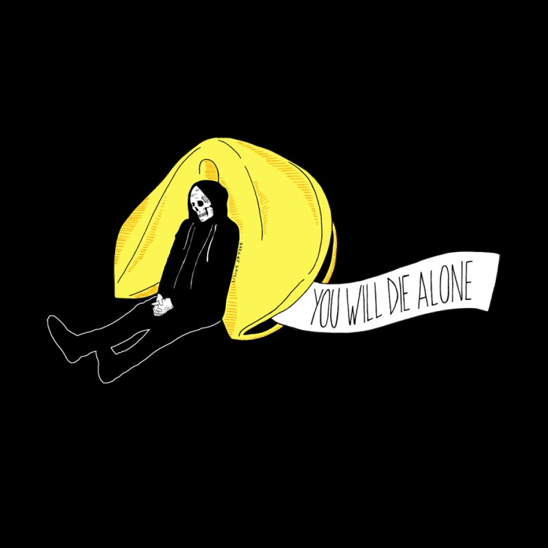 Die Alone Men's Sweatshirt by DARKER DAYS