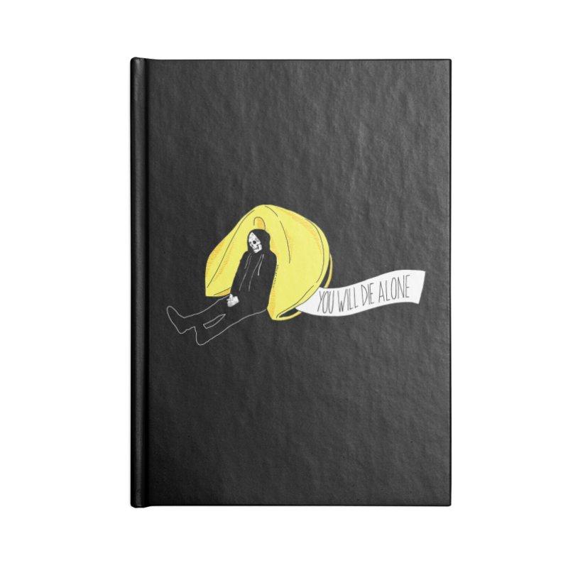 Die Alone Accessories Lined Journal Notebook by DARKER DAYS