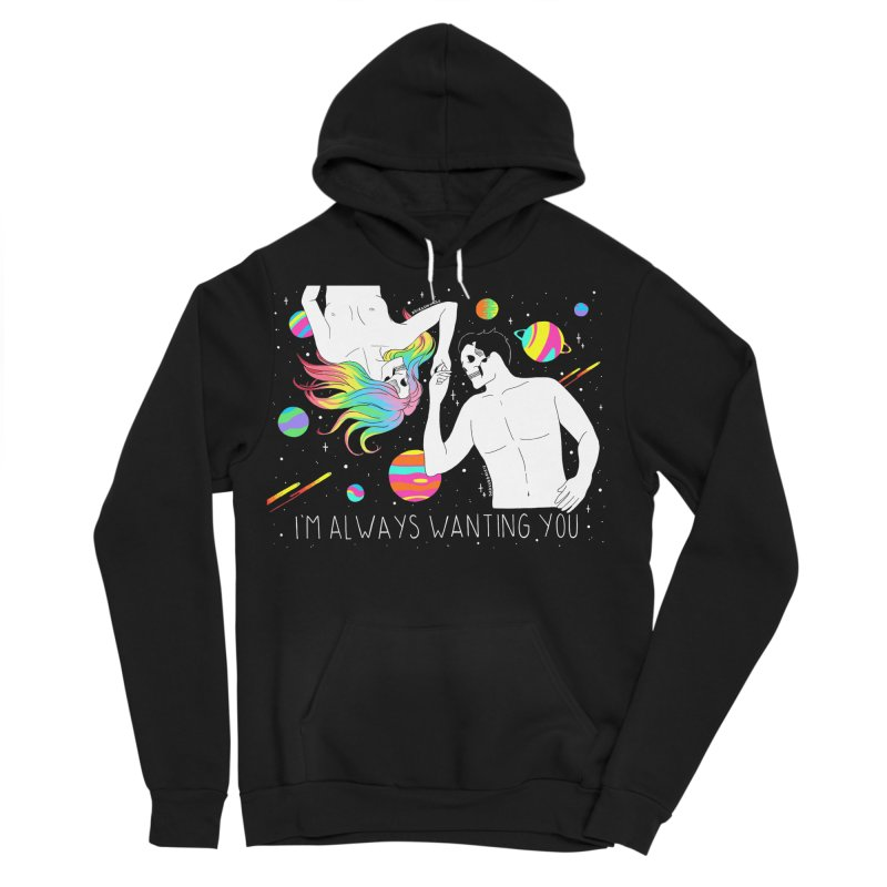 I'm Always Wanting You Men's Sponge Fleece Pullover Hoody by DARKER DAYS
