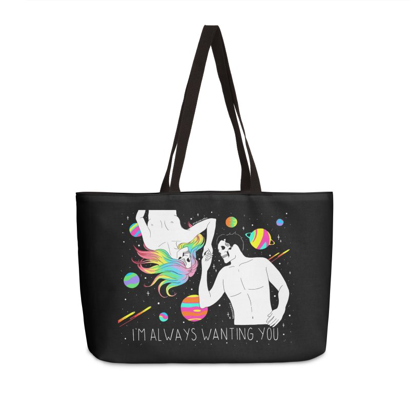 I'm Always Wanting You Accessories Weekender Bag Bag by DARKER DAYS