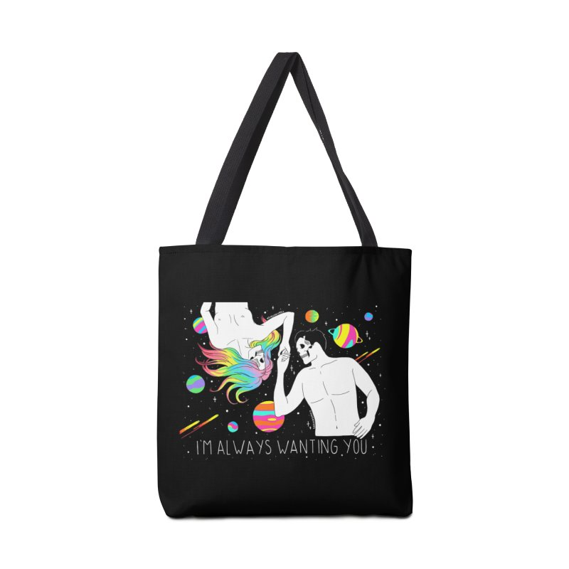 I'm Always Wanting You Accessories Tote Bag Bag by DARKER DAYS