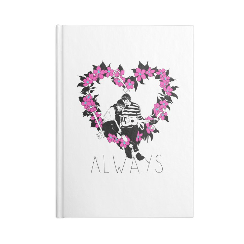 Always Accessories Lined Journal Notebook by DARKER DAYS