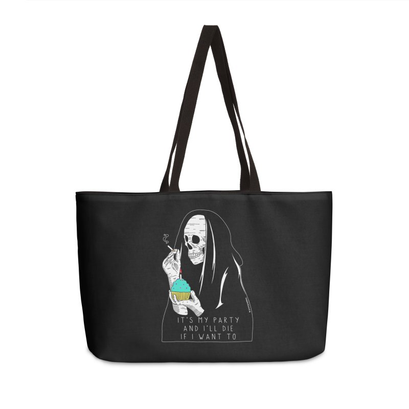 It's My Party Accessories Weekender Bag Bag by DARKER DAYS