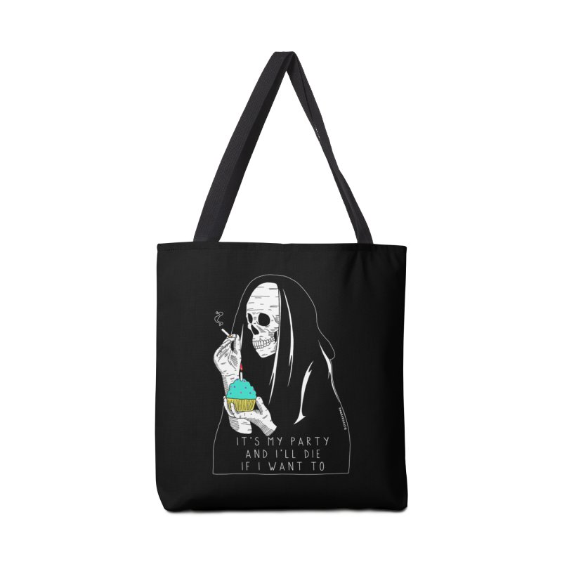 It's My Party Accessories Tote Bag Bag by DARKER DAYS