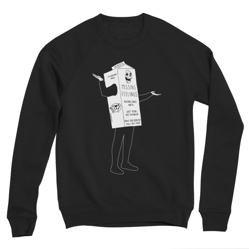 Missing Feelings Women's Sweatshirt by DARKER DAYS