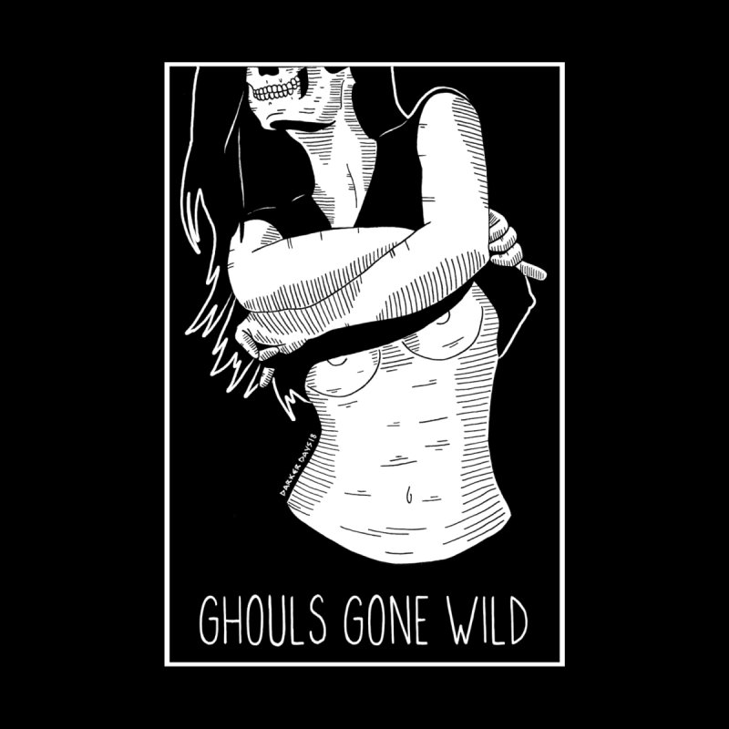 Ghouls Gone Wild Men's V-Neck by DARKER DAYS