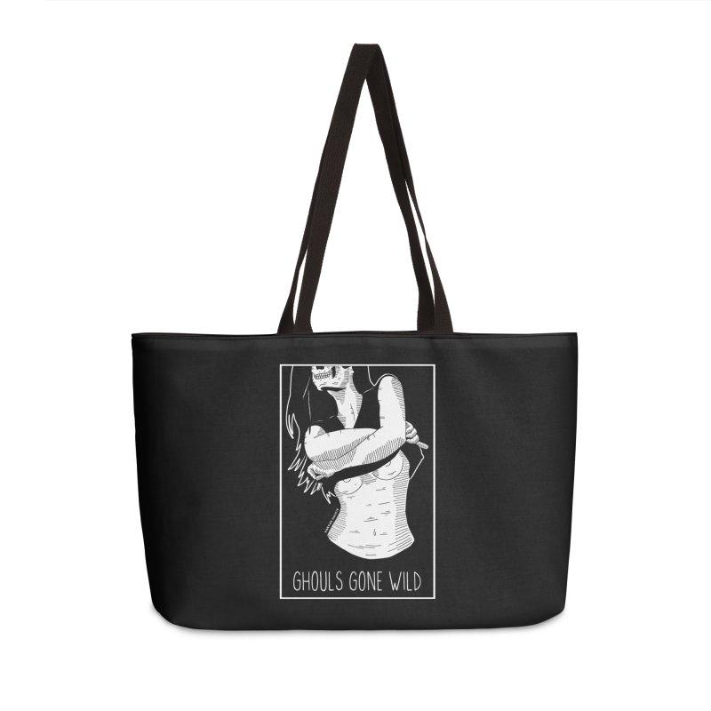Ghouls Gone Wild Accessories Weekender Bag Bag by DARKER DAYS