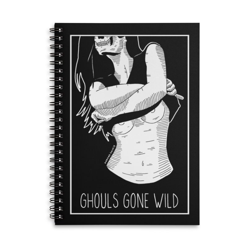 Ghouls Gone Wild Accessories Lined Spiral Notebook by DARKER DAYS