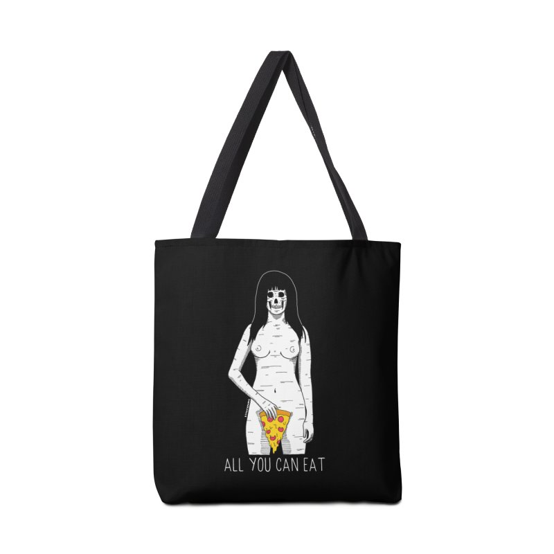All You Can Eat Accessories Tote Bag Bag by DARKER DAYS