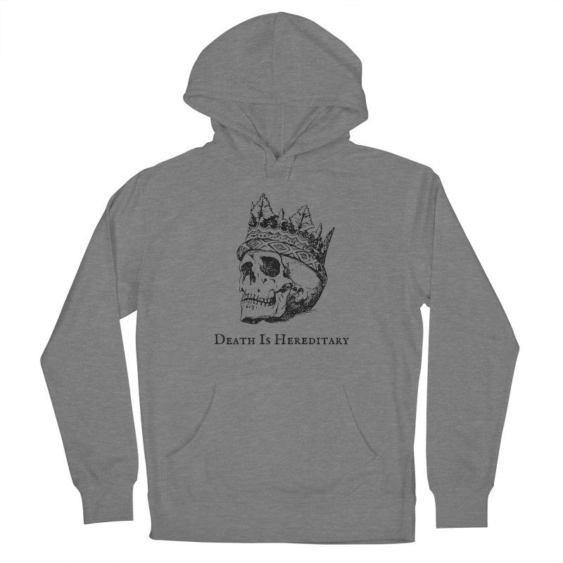 Death Is Hereditary (Black Ink) Women's Pullover Hoody by Dark Helix's Artist Shop