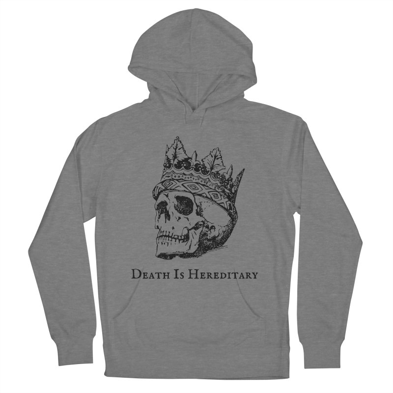 Death Is Hereditary (Black Ink) Women's Pullover Hoody by Dark Helix's Artist Shop