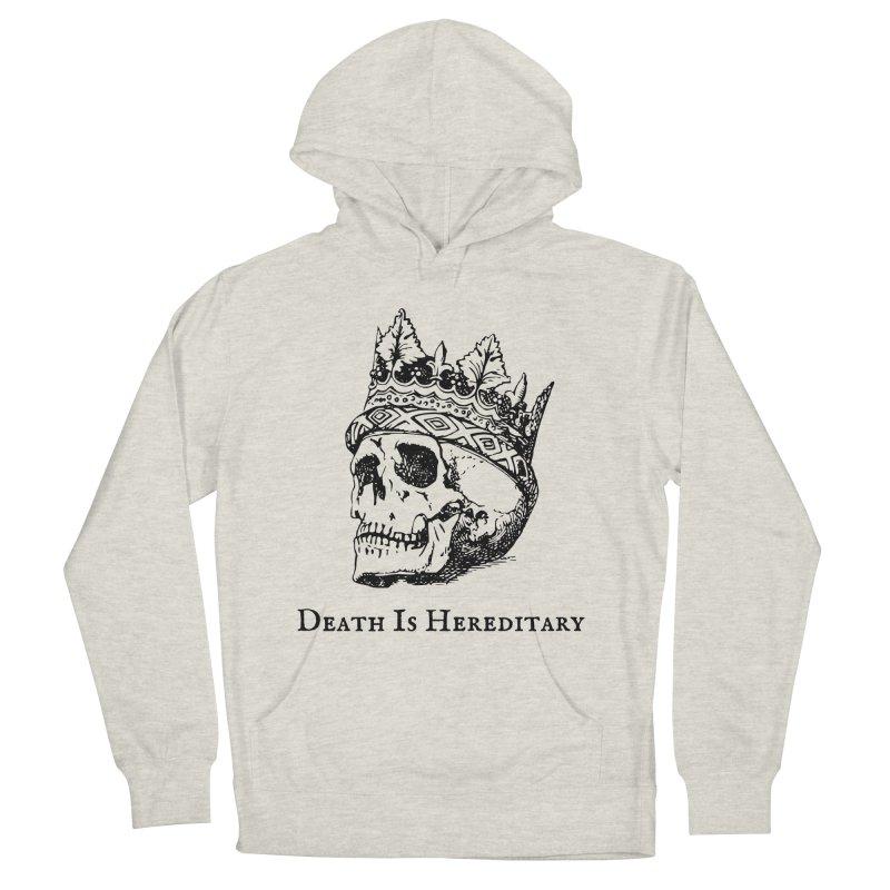 Death Is Hereditary (Black Ink) Men's Pullover Hoody by Dark Helix's Artist Shop