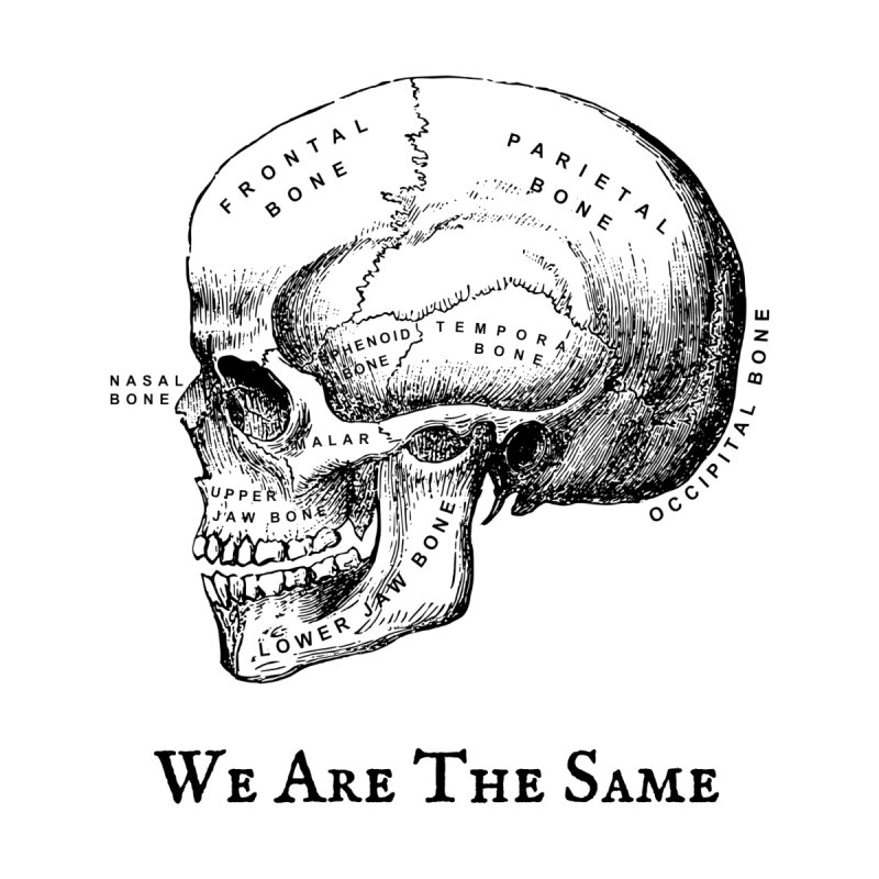 We Are The Same (Black Ink)   by Dark Helix's Artist Shop