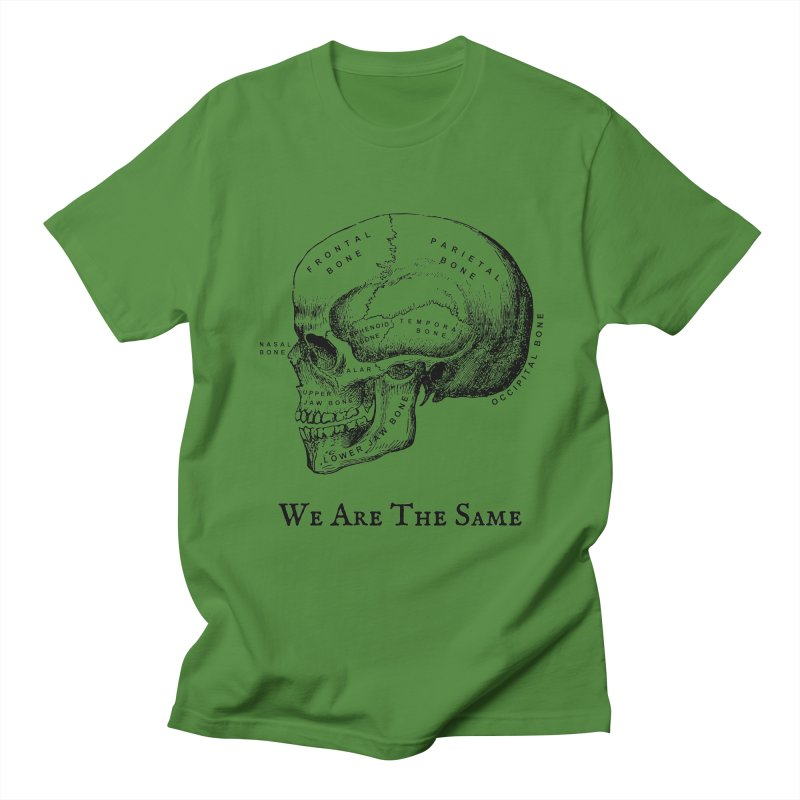 We Are The Same (Black Ink) Men's T-Shirt by Dark Helix's Artist Shop