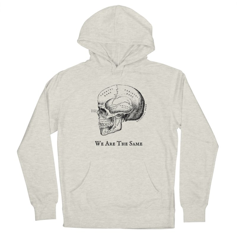 We Are The Same (Black Ink) Men's Pullover Hoody by Dark Helix's Artist Shop