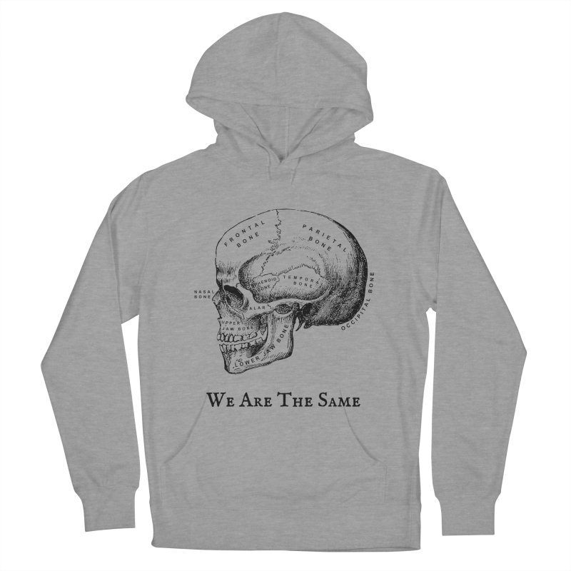 We Are The Same (Black Ink) Men's French Terry Pullover Hoody by Dark Helix's Artist Shop
