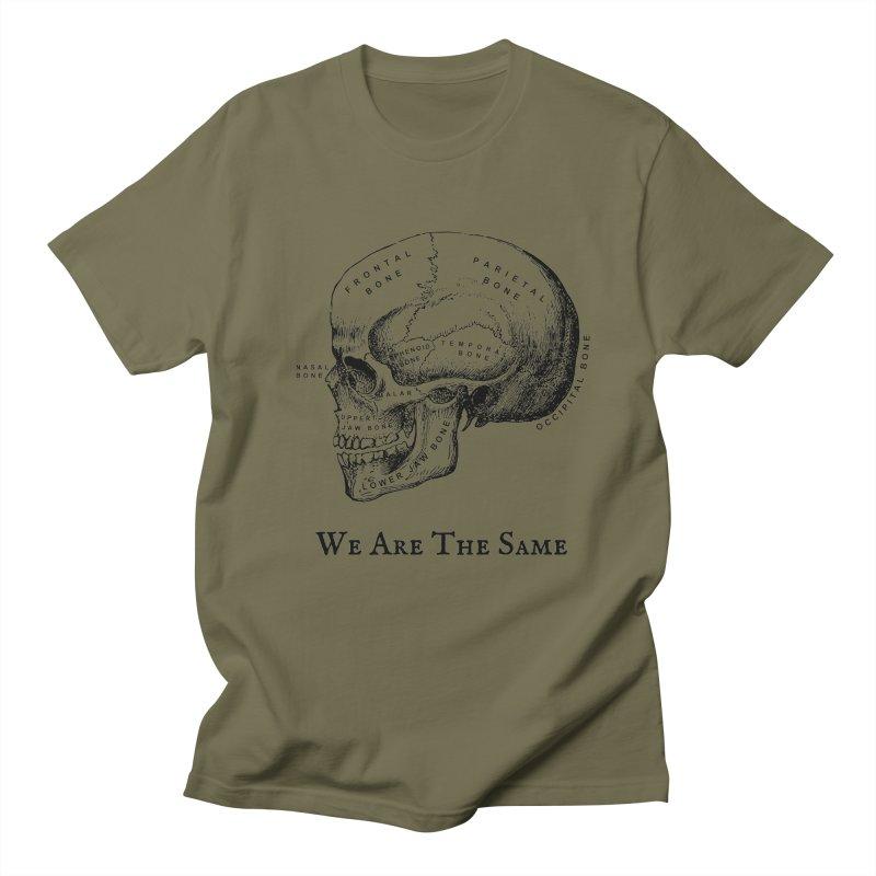We Are The Same (Black Ink) Women's Regular Unisex T-Shirt by Dark Helix's Artist Shop