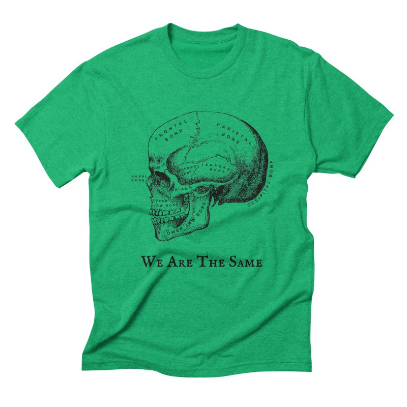 We Are The Same (Black Ink) Men's Triblend T-Shirt by Dark Helix's Artist Shop