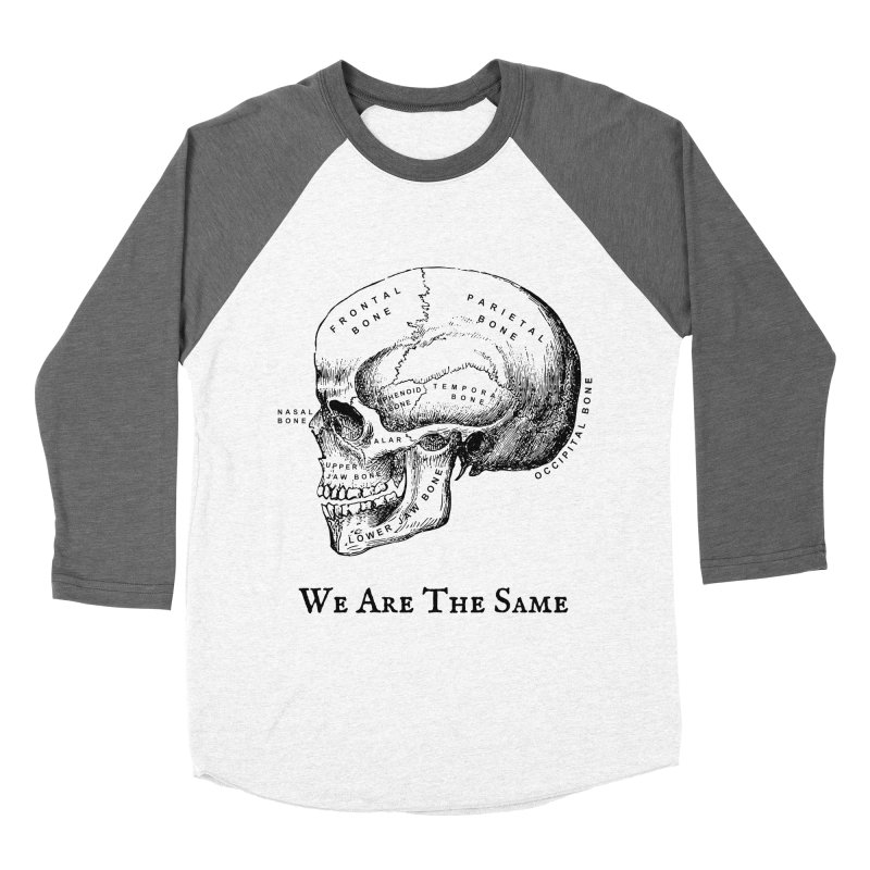 We Are The Same (Black Ink) Women's Longsleeve T-Shirt by Dark Helix's Artist Shop
