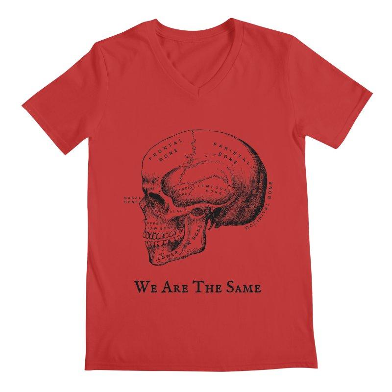 We Are The Same (Black Ink) Men's V-Neck by Dark Helix's Artist Shop