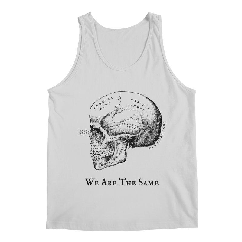 We Are The Same (Black Ink) Men's Regular Tank by Dark Helix's Artist Shop