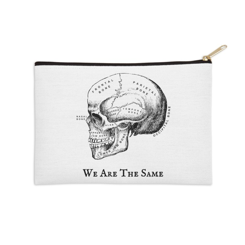 We Are The Same (Black Ink) Accessories Zip Pouch by Dark Helix's Artist Shop
