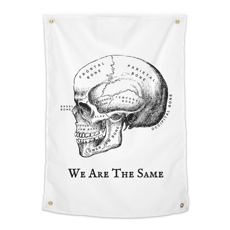 We Are The Same (Black Ink) Home Tapestry by Dark Helix's Artist Shop