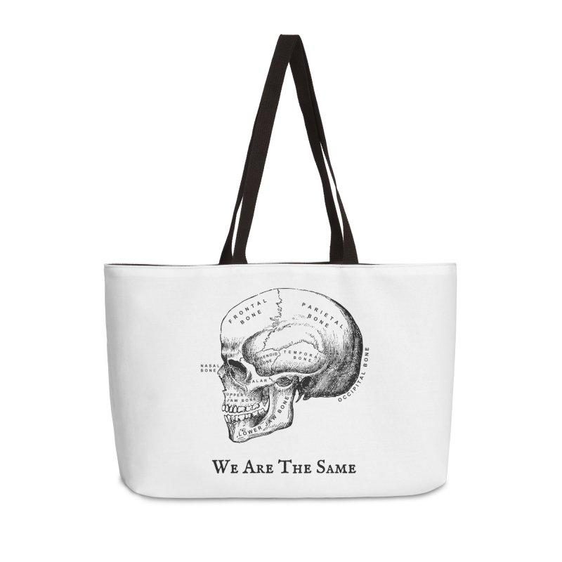 We Are The Same (Black Ink) Accessories Weekender Bag Bag by Dark Helix's Artist Shop