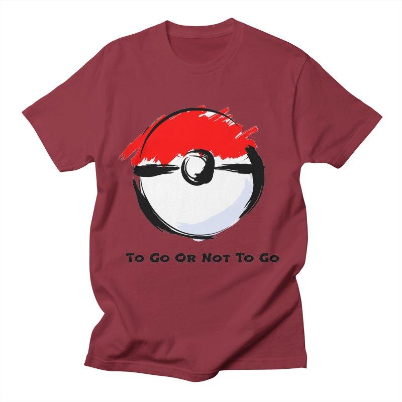 Poke Zen Men's T-Shirt by Dark Helix's Artist Shop