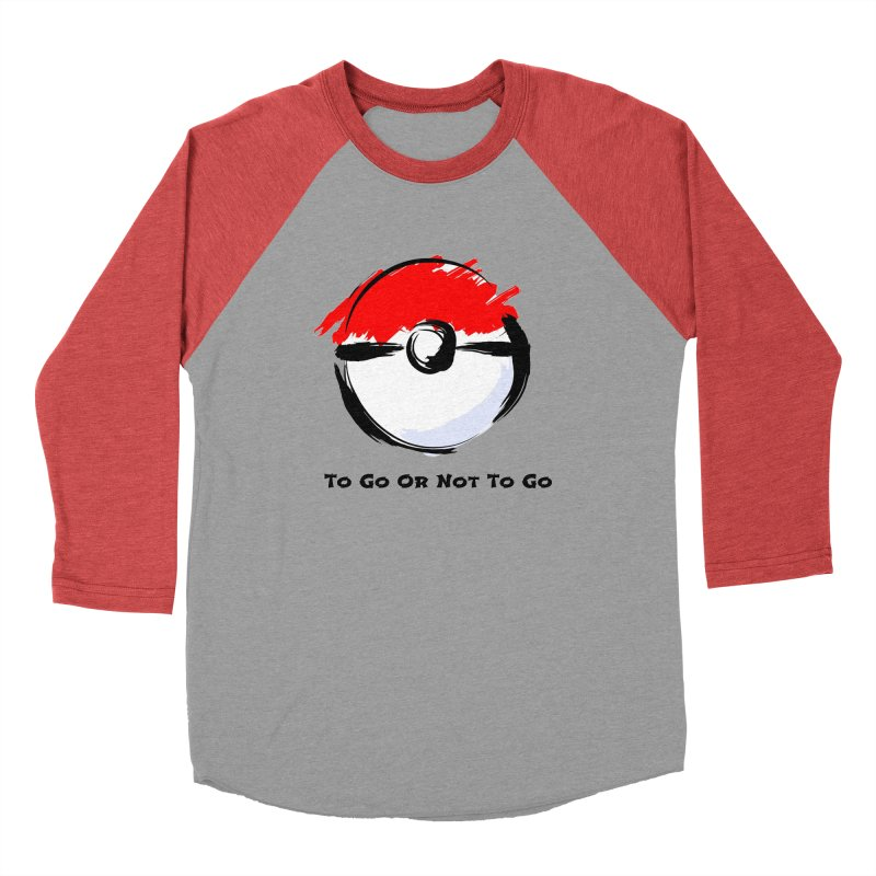 Poke Zen Women's Baseball Triblend Longsleeve T-Shirt by Dark Helix's Artist Shop