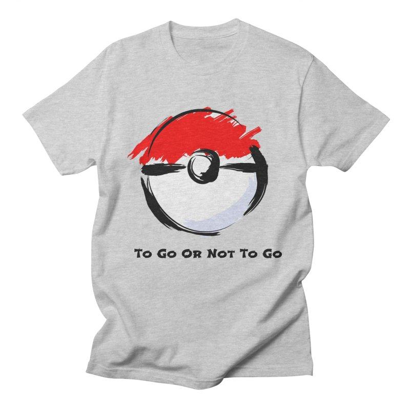 Poke Zen Men's Regular T-Shirt by Dark Helix's Artist Shop