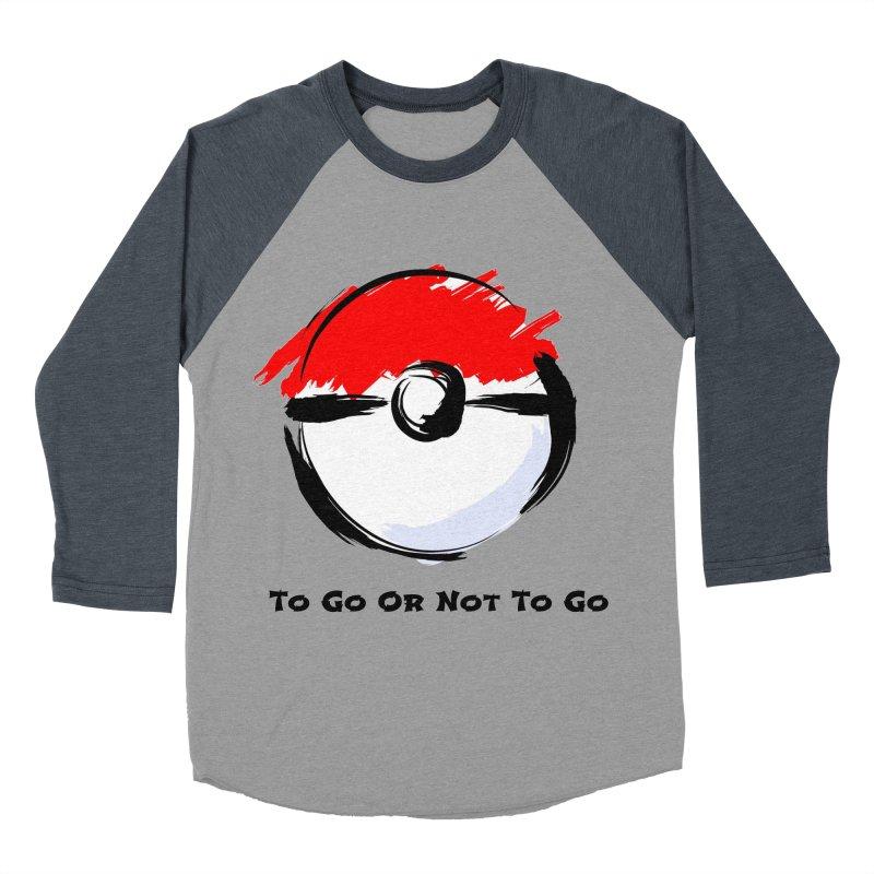 Poke Zen Women's Baseball Triblend Longsleeve T-Shirt by Dark Helix's Artist Shop