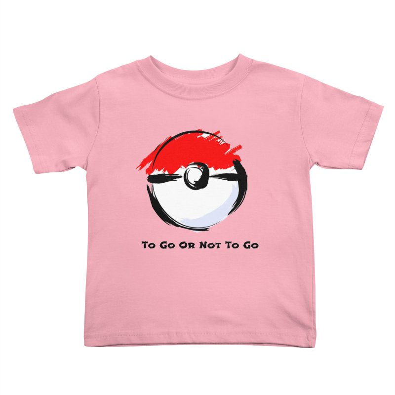 Poke Zen Kids Toddler T-Shirt by Dark Helix's Artist Shop