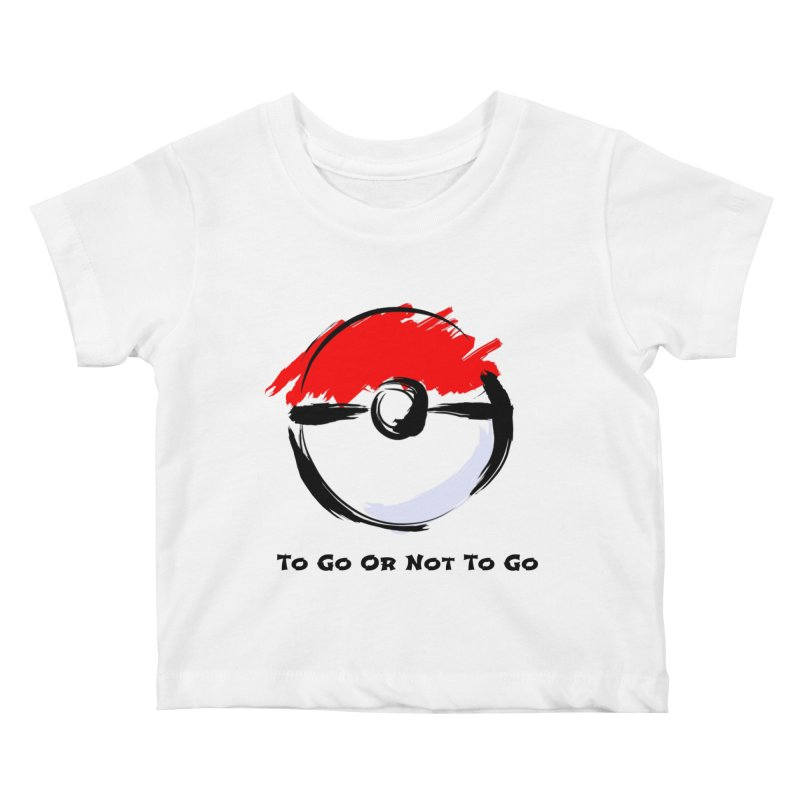 Poke Zen Kids Baby T-Shirt by Dark Helix's Artist Shop