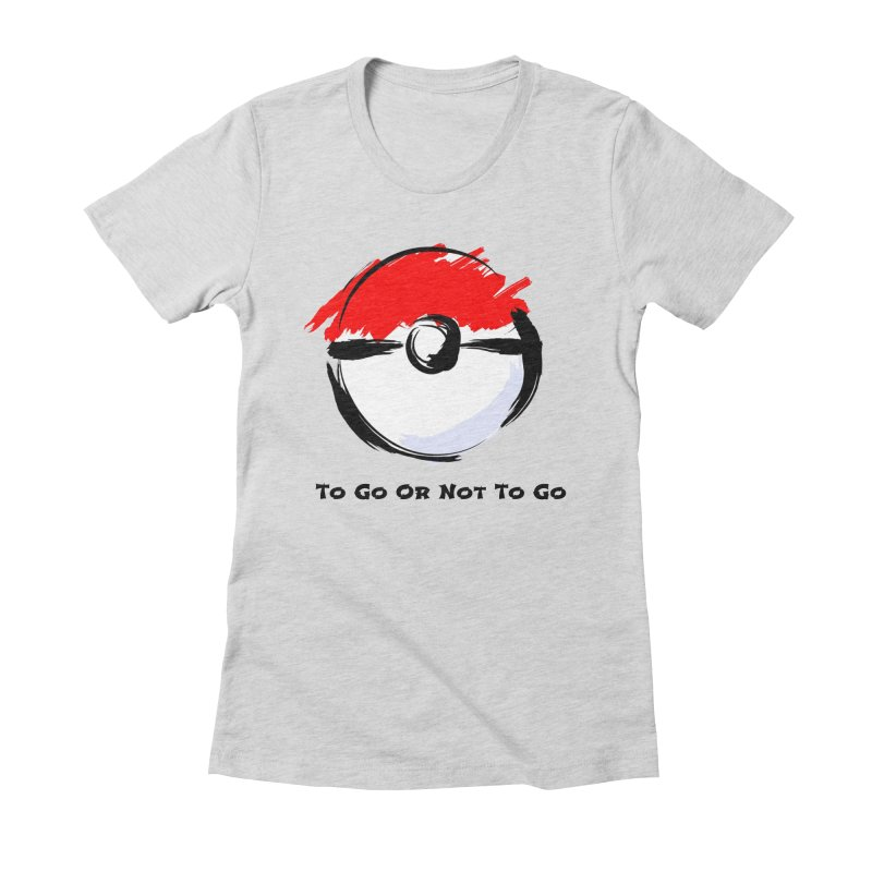 Poke Zen Women's T-Shirt by Dark Helix's Artist Shop