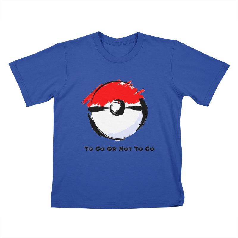 Poke Zen Kids T-Shirt by Dark Helix's Artist Shop